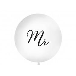 Riesenballon weiß MR 1m