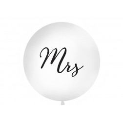 Riesenballon weiß MRS 1m