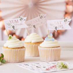Cupcake Toppers Afternoon Tea 12 Stück