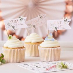 Cupcake Toppers Afternoon Tea 12 Stück
