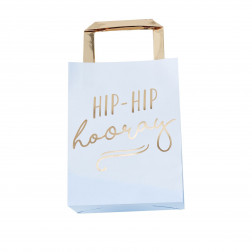 Party Bags blau hooray 5 Stück