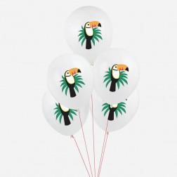 Luftballons Tukan 5 Stück