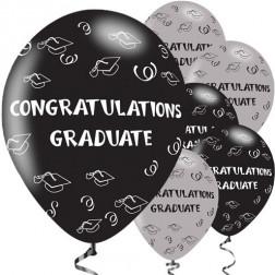 Luftballons Congrats Grad 6 Stück