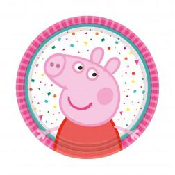 Peppa Pig kleine Pappteller 18cm 8 Stück