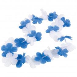 Blumenkette blau