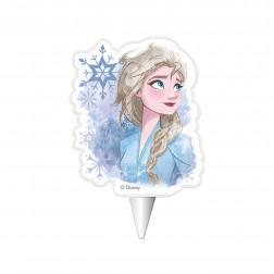 Kerze Frozen 2 Elsa 7,5cm