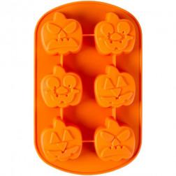 Wilton Mini Jack-O-Lantern Silicone Mold
