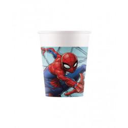 Pappbecher Spider Man Team Up 8 Stück