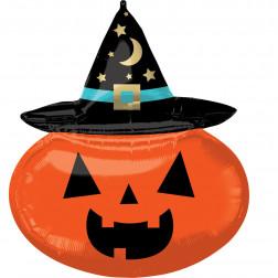 Folienballon Witchy Pumpkin 71cm