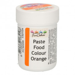 Lebensmittel Pastenfarbe Orange 30g