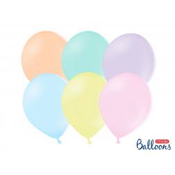 Luftballons Pastel Mix 30cm 10 Stück