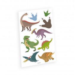 Tattoos Happy Dinosaur 9 Stück