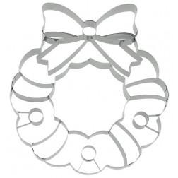 Ausstechform XXL Weihnachtskranz 18 cm