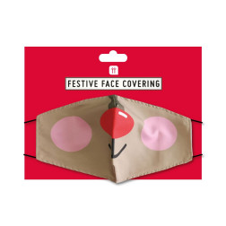 Christmas Reindeer Face Mask