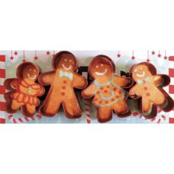 Ausstechformen Gingerman 4er Set