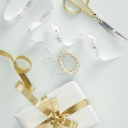 Merry Christmas Gold Ribbon Kit