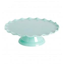 Tortenplatte Welle Mint 27,5cm