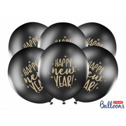 Luftballon Happy New Year 6 Stück