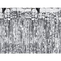Lametta silber 0,90 x 2,5m