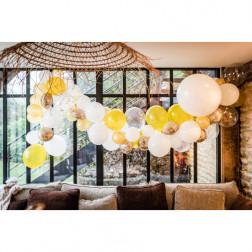 Ballons Arche gold 70 Stück