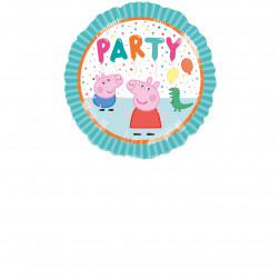 Folienballon Peppa Pig Party 43cm