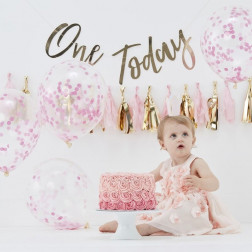 1st Birthday pink Kit