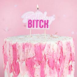 Birthday Bitch Cake Candle