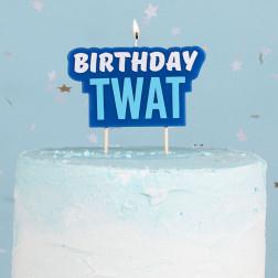 Kerze Birthday Twat