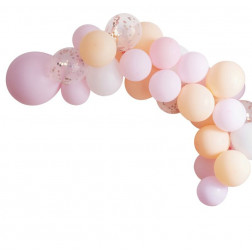 Balloon Arch Garland Peach, Pink