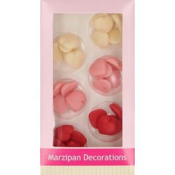 Marzipan Dekorationen kleine Herzen 30er Set