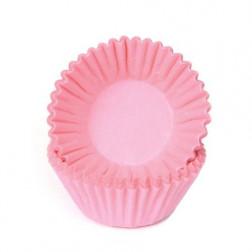 Chocolate Baking Cups Pastel Pink 100 Stück