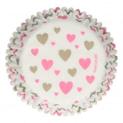 Baking Cups Herzen 48 Stück