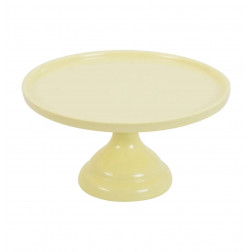 Tortenplatte Melamin Gelb 23,5cm