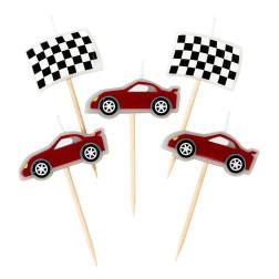 Kerzen Party Racer 5er Set