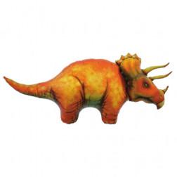 Folienballon Triceratops 107cm