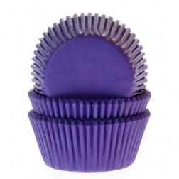 Cupcake Backförmchen Violett 50 Stück