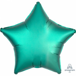 Folienballon Stern Satin Luxe Jade 43cm