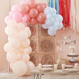 Muted Pastel Balloon Arch Kit