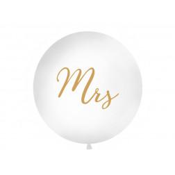 Riesenballon Mrs gold 1m