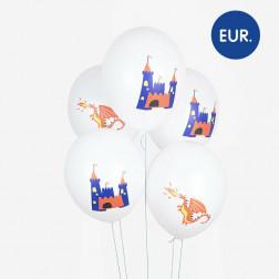 Luftballons Dragon KNIGHT 5 Stück