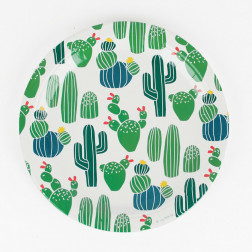 Pappteller Cactus 8 Stück