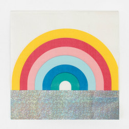 Servietten Rainbow 16 Stück