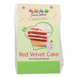 Backmischung Red Velvet Cake Gluten Frei 400g