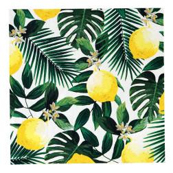 Servietten Tropical Palm Lemon 20 Stück