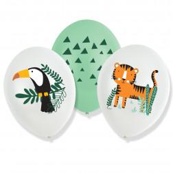 Latex Ballons Get Wild 6 Stück