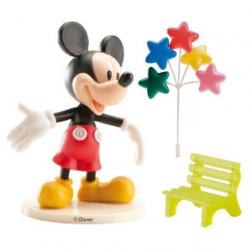Tortendeko Set Mickey Mouse mit Kerzen