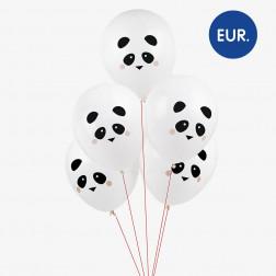 Luftballons Panda 5 Stück