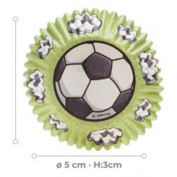 Cupcake Formen Fußball 25 Stück