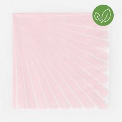 Servietten pink pastel 20 Stück