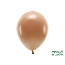 Eco Balloons pastel chocolate brown 10 Stück